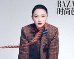 Châu Tấn khoe vẻ nam tính trên Harper's Bazaar