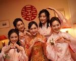 Những hình ảnh hiếm từ đám cưới của Đường Yên - La Tấn