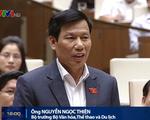 Bộ trưởng Bộ VH-TT&DL: Đạo đức xã hội xuống cấp xuất phát từ các ngành kinh tế