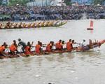 Đội đua ghe ngo nữ ở Sóc Trăng - ảnh 1