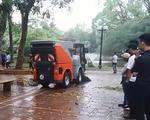 Hà Nội tiết kiệm hàng chục tỷ đồng nhờ sử dụng xe quét đường