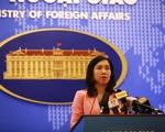 Việt Nam phản đối Trung Quốc đưa vào sử dụng trạm khí tượng tại Trường Sa