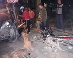 Hà Nội: Xe Lexus gây tai nạn liên hoàn, lái xe là phụ nữ