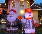 Rực rỡ ngôi nhà Giáng sinh ở Áo