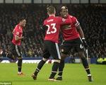 VIDEO: Tổng hợp diễn biến trận đấu Everton 0-2 Man Utd