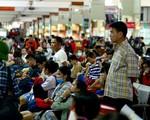 Các bến xe ở Hà Nội thông thoáng ngày cận Tết - ảnh 1