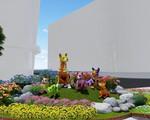Linh vật đường hoa Nguyễn Huệ qua các năm