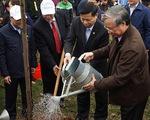 Đồng chí Trần Quốc Vượng phát động Tết trồng cây tại Bắc Ninh