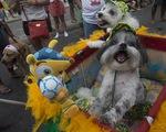 Carnival độc đáo cho cún cưng ở Brazil