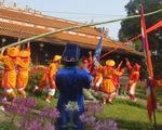 Lễ dựng Nêu ngày Tết trong Hoàng thành Huế