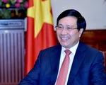 Phó Thủ tướng Phạm Bình Minh phát biểu khai mạc Không gian Văn hóa Việt Nam tại Ấn Độ