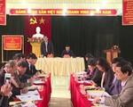 Trưởng ban Tổ chức Trung ương làm việc tại Hà Giang
