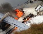 Rơi máy bay tiêm kích F-18 của Hải quân Mỹ, 2 phi công mất tích - ảnh 1