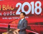 Tưng bừng khai mạc Hội báo Toàn quốc 2018 tại Hà Nội