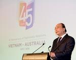 Phó Chủ tịch nước gặp Thống đốc và Thủ hiến bang Victoria, Australia - ảnh 1