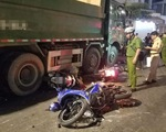 Xe ben va chạm liên hoàn với gần chục xe máy ở TP.HCM, 6 người bị thương nặng