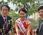 Hà Nội tổ chức lễ đón nhận 200 cây hoa anh đào từ Nhật Bản