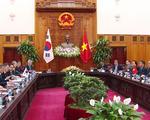 Thủ tướng Nguyễn Xuân Phúc tiếp Tổng thống Hàn Quốc Moon Jae-in