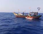 Kịp thời cứu ngư dân Quảng Nam bị tai nạn trên biển