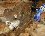 Đường ống nước sông Đà vỡ 18 lần trong hơn 4 năm