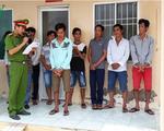 Kiên Giang: Bắt 9 đối tượng trộm ngư cụ trên vùng biển Tây Nam