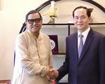 Chủ tịch nước Trần Đại Quang tiếp Chủ tịch Đảng Công nhân Bangladesh