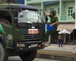 Lái xe tải chống đối cảnh sát giao thông