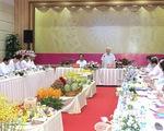 Tổng Bí thư Nguyễn Phú Trọng làm việc với đội ngũ cán bộ chủ chốt tỉnh Đồng Tháp