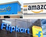 Amazon và Walmart của Mỹ giành giật thị phần bán lẻ tại Ấn Độ