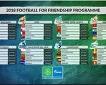 Hai cầu thủ trẻ được lựa chọn đại diện Việt Nam tại chương trình Football for Friendship tại Nga