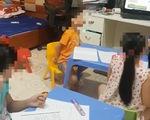 Học sinh mệt mỏi vì áp lực thi vào lớp 6 - ảnh 1