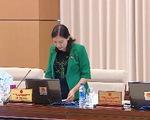 Thường vụ Quốc hội cho ý kiến về Báo cáo giám sát việc giải quyết kiến nghị của cử tri