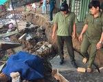 Tiếp tục xảy ra sạt lở tại thị trấn Mái Dầm, Hậu Giang