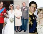 Đám cưới Hoàng gia Anh qua các thời kỳ