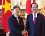 Chủ tịch nước gặp gỡ cộng đồng người Việt Nam tại Nhật Bản - ảnh 1
