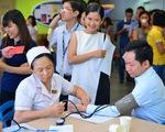 'Chia sẻ yêu thương' hưởng ứng chiến dịch hiến máu tình nguyện
