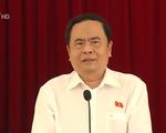 Đồng chí Trần Thanh Mẫn tiếp xúc cử tri ở TP Cần Thơ