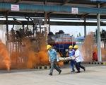 Cần Thơ tổ chức diễn tập chữa cháy tại Tổng kho xăng dầu