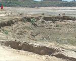Ninh Thuận: 21 hồ chứa nước bị khô hạn - ảnh 1