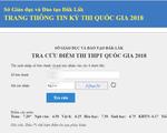 Đắk Lắk: Một thí sinh có môn Toán tăng 6,6 điểm sau phúc khảo