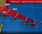 Đài Loan (Trung Quốc) phát cảnh báo bão Maria