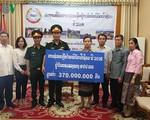 Tiếp tục ủng hộ Lào khắc phục hậu quả lũ lụt sau vụ vỡ đập thuỷ điện