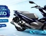 Xe máy hybrid lần đầu vào Việt Nam