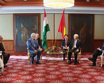 Tổng Bí thư tiếp Chủ tịch Hội Hữu nghị Hungary - Việt Nam