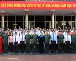 Học viện Quốc phòng khai giảng năm học mới