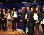 Sinh viên Việt Nam đoạt Giải thưởng Giáo dục quốc tế bang Victoria