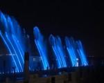 Trình diễn sà lan nhạc nước lần đầu tiên tại TP. HCM