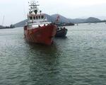 Nghệ An cứu nạn tàu cá cùng 10 thuyền viên gặp sự cố trên biển