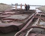 Quảng Ninh bắt 9 tàu khai thác cát trái phép