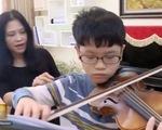 Tài năng violin trẻ đoạt giải thưởng âm nhạc quốc tế Thái Lan